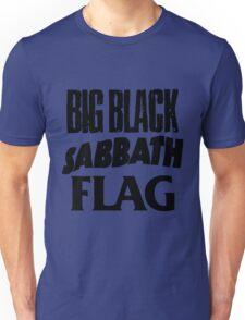 Big Black Sabbath Flag Unisex T-Shirt