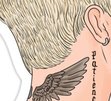Justin Bieber Drawing Sticker