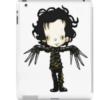 Edward with the hands of Scissors iPad Case/Skin