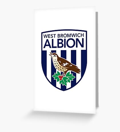 WEST BROMWICH ALBION Greeting Card