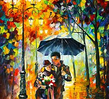 WARM NIGHT - Leonid Afremov by Leonid Afremov
