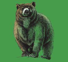 The Great Bear - A fierce protector Baby Tee