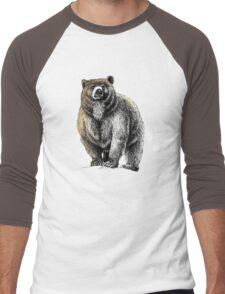 The Great Bear - A fierce protector Men's Baseball ¾ T-Shirt