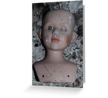 doll and ash Greeting Card