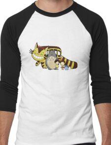 Totoro, to-to-ro Men's Baseball ¾ T-Shirt
