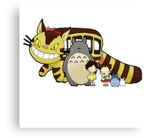 Totoro, to-to-ro Canvas Print