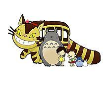 Totoro, to-to-ro Photographic Print