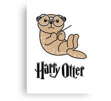 Funny Harry Otter Canvas Print