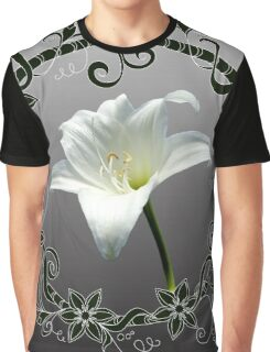 white amaryllis Graphic T-Shirt