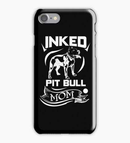 Inked Pit Bull Mom iPhone Case/Skin