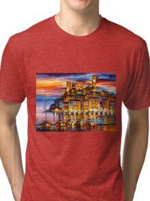 CANNES - FRANCE - Leonid Afremov Tri-blend T-Shirt