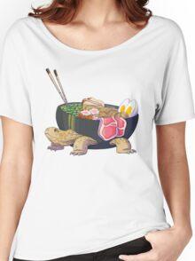 Ramen Tortoise  T-shirt femme coupe relax