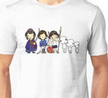 Princess of the Forest, Mononoke Unisex T-Shirt
