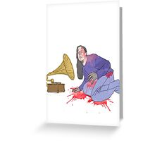 voice of the dead  Greeting Card