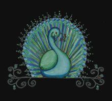 Peacock 6 Kids Tee