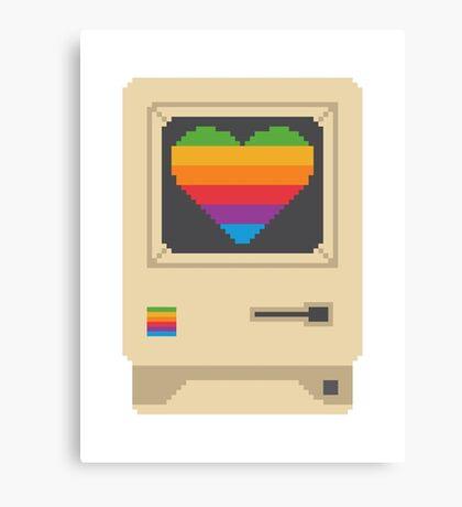 Mac Love Canvas Print