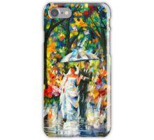 WEDDING UNDER THE RAIN - Leonid Afremov iPhone Case/Skin