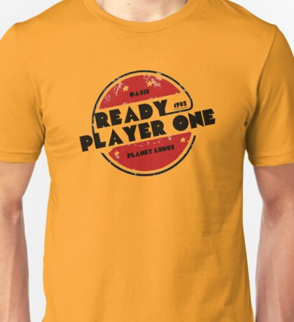 Ready Player One Logo Ludus 1983 Unisex T-Shirt