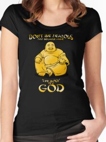 Body of a God Women's Fitted Scoop T-Shirt