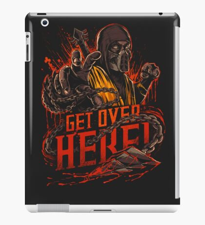 Get Over Here! iPad Case/Skin