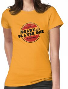Ready Player One Logo Ludus 2044 Womens Fitted T-Shirt