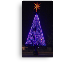 Big Purple Xmas Canvas Print