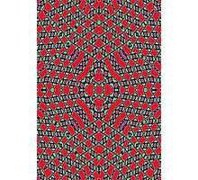Modern Trendy colorful pattern Photographic Print