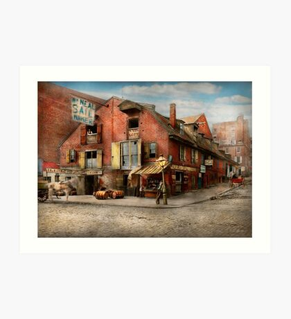 City - PA - Fish & Provisions 1898 Art Print