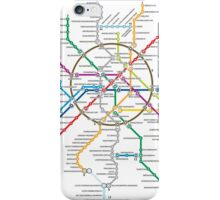 moscow subway iPhone Case/Skin