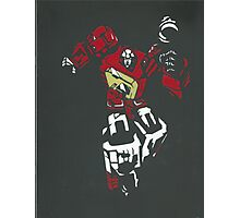 Blaster From Transformers Stencil Piece Photographic Print