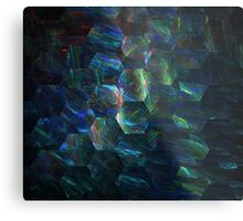 Ocean Honeycomb Metal Print