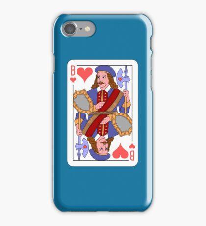 JACK OF HEARTS (LA HIRE) iPhone Case/Skin