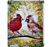 Cardinals Chat  iPad Case/Skin
