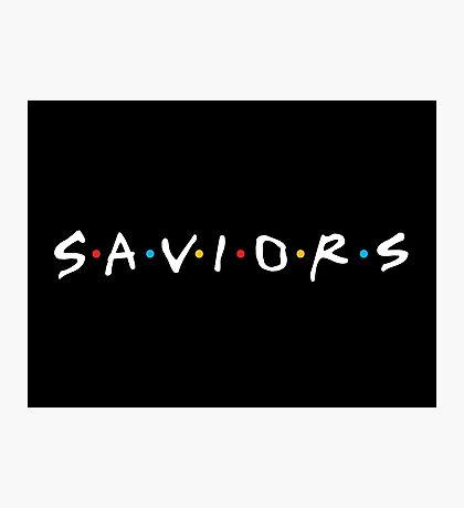 The Saviors ( Friends ) Photographic Print