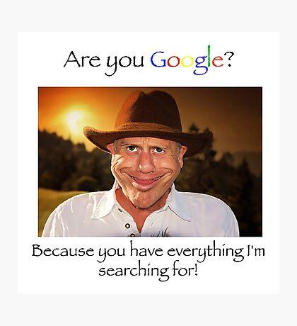 Valentine Google Photographic Print