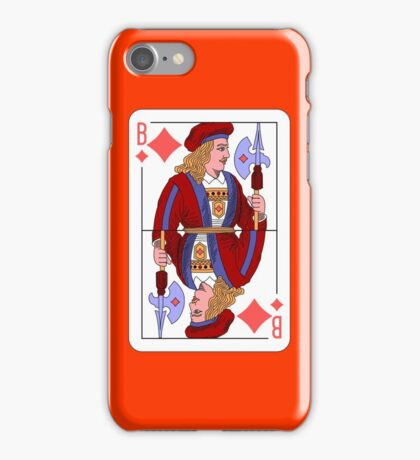 JACK OF DIAMONDS (HECTOR) iPhone Case/Skin