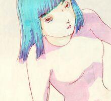 Space  Girl II by Jasmin Garcia-Verdin