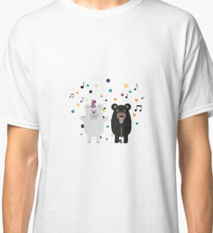 Singing Party Bears Classic T-Shirt