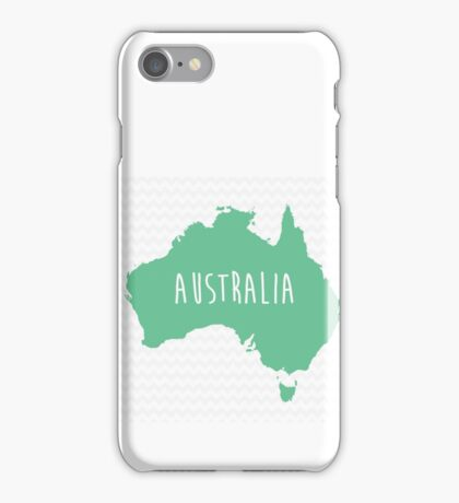 Australia Chevron Continent Series iPhone Case/Skin