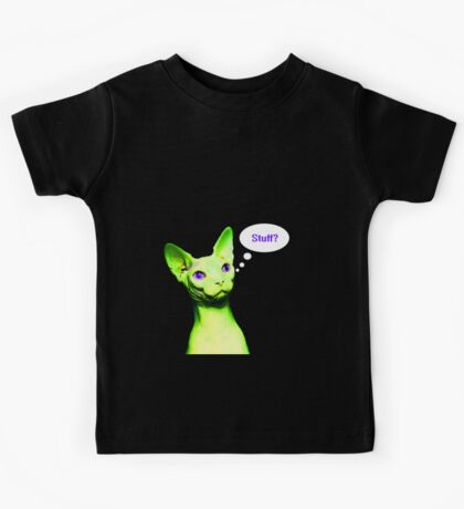 Naked Astro Cat - 10 Kids Tee