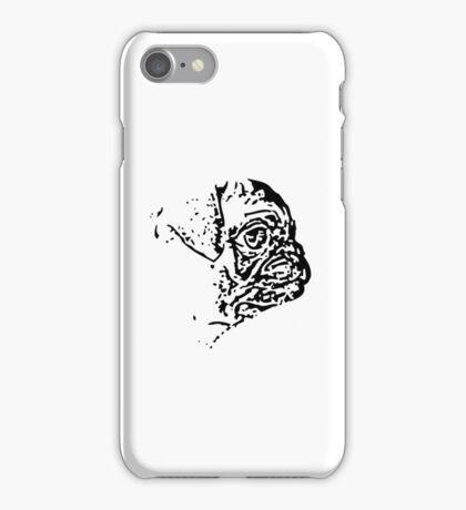 Pug Side iPhone Case/Skin