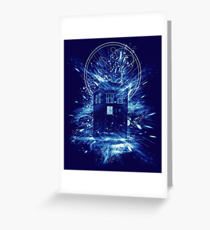 time storm Greeting Card