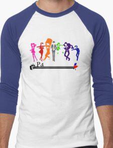 Persona 4!!! Men's Baseball ¾ T-Shirt