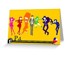 Persona 4!!! Greeting Card