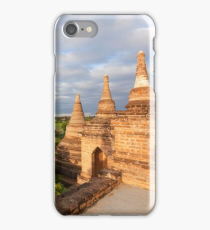 Stupa, Bagan, Myanmar iPhone Case/Skin