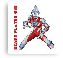 Ready Player One Ultra Man Canvas Print