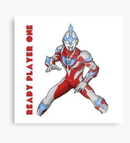 Ready Player One Ultra Man Metal Print