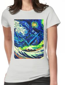 tardis A Beauty Womens Fitted T-Shirt