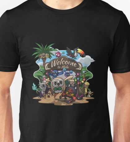 Welcome to Alola! Unisex T-Shirt