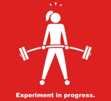 Experiment In Progress - Weightlifting (Clothing) One Piece - Short Sleeve